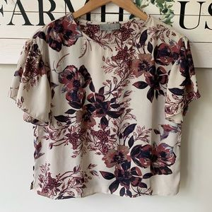 Fabrik floral top small